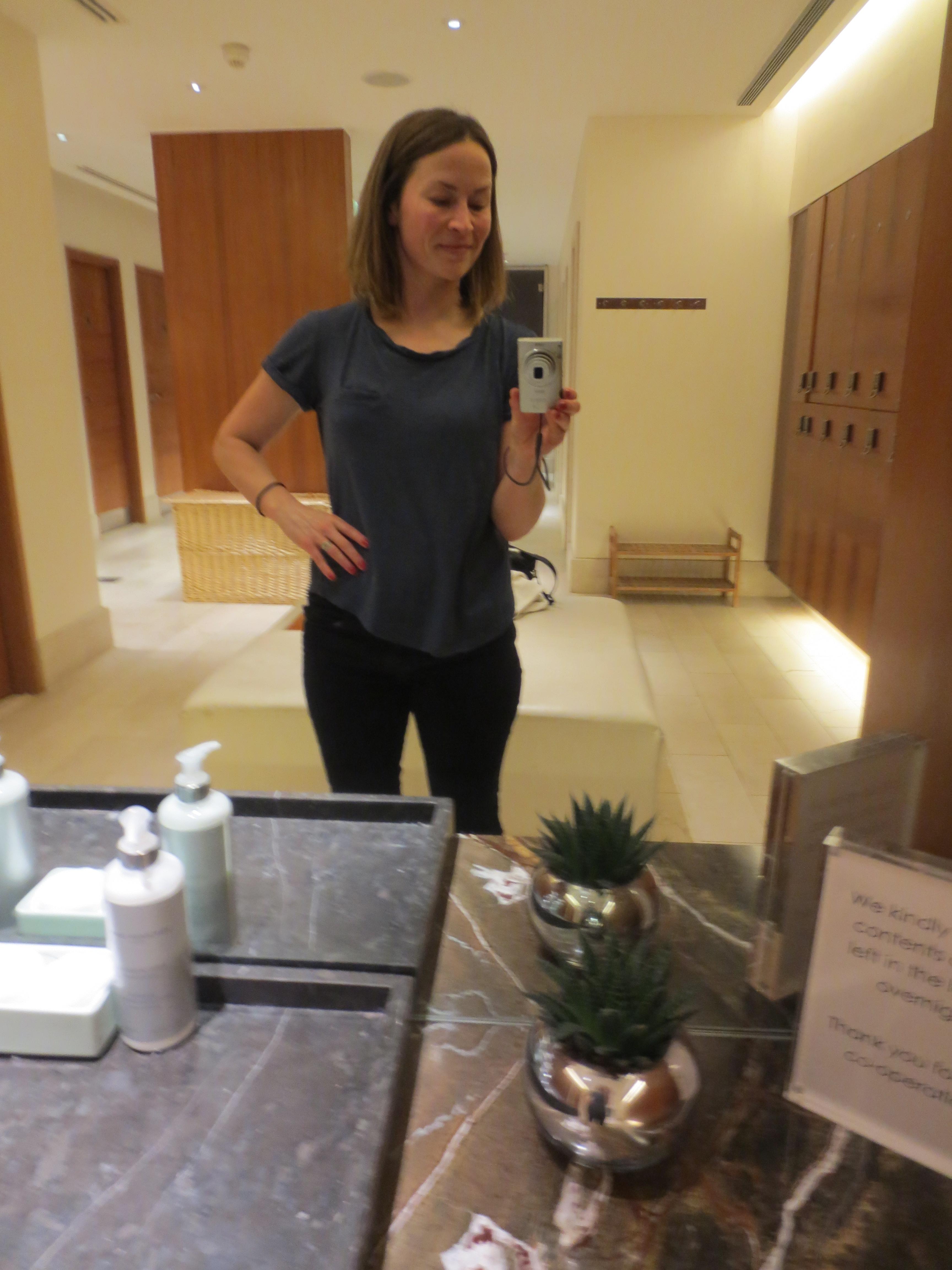 Changing room selfie!