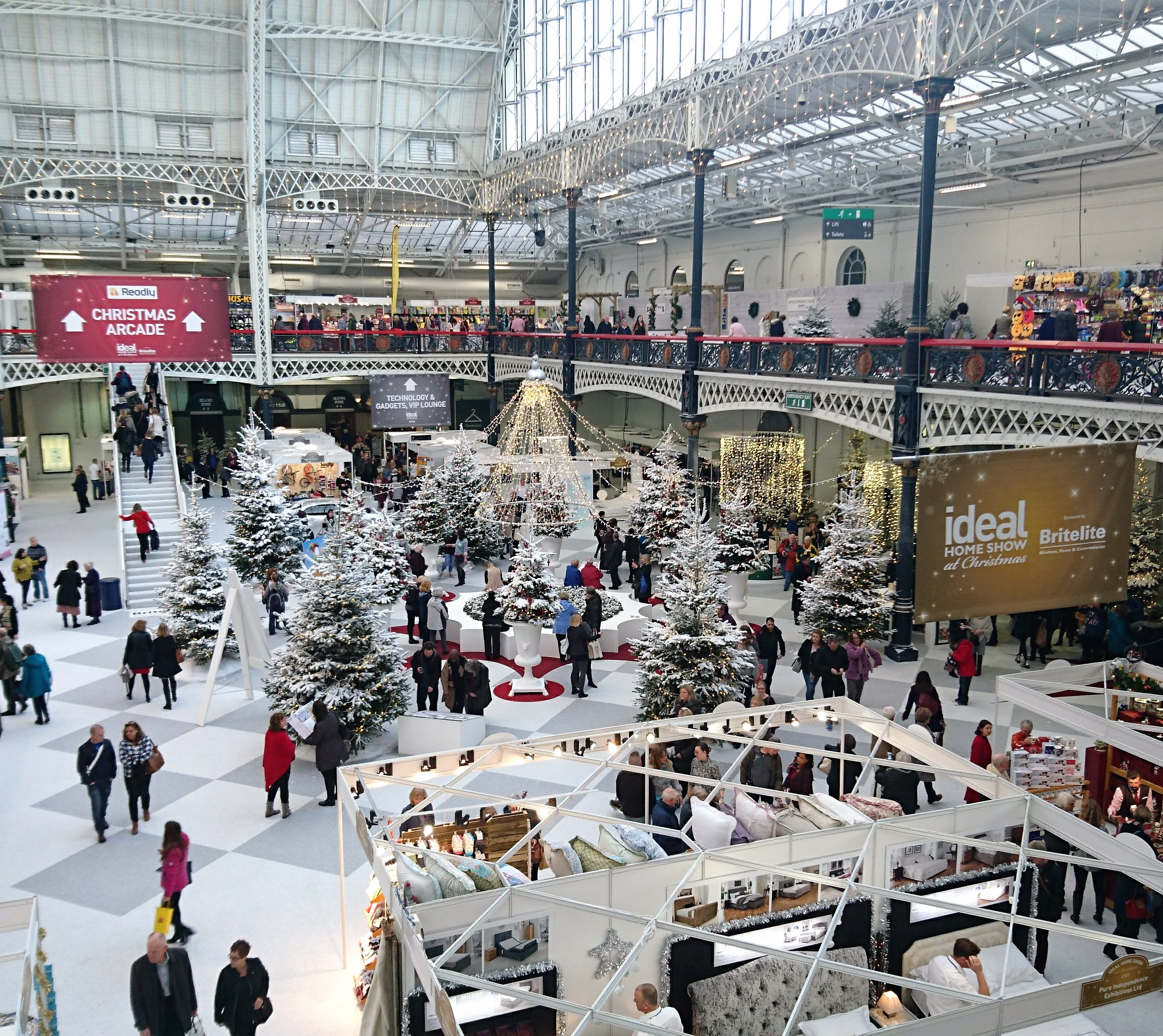 Ideal Home Show At Christmas Its Mostly Okay